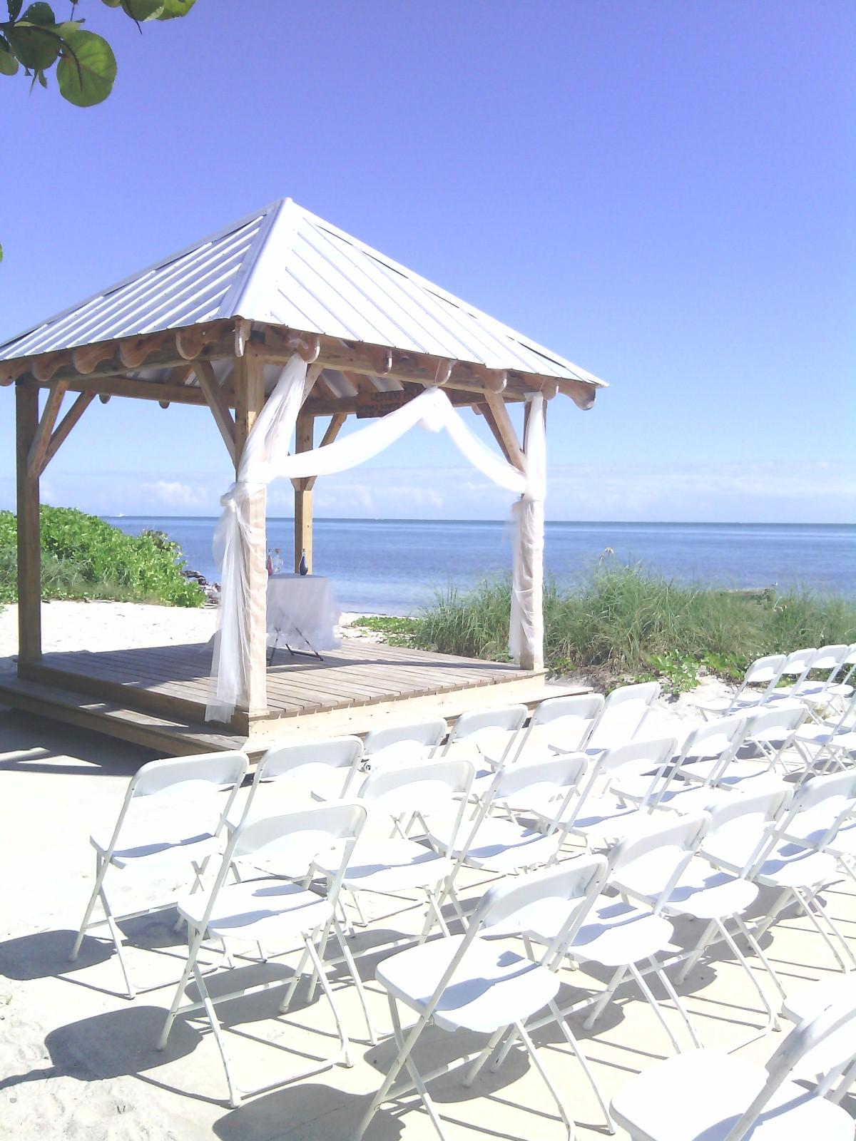 Wedding Ceremony Reception Application Virginia Key
